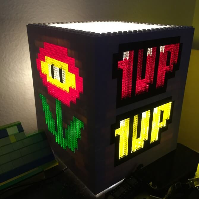 Mario Brothers Lamp (new variations)