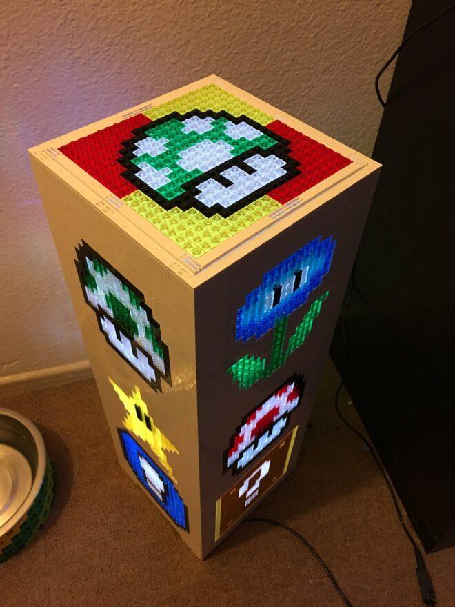 Mario LEGO Tower